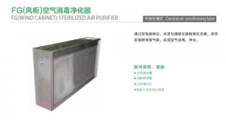 空调机组空气消毒装置