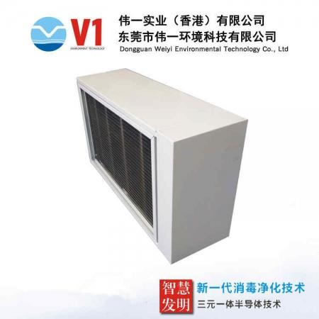 地铁站中央空调管道式净化器