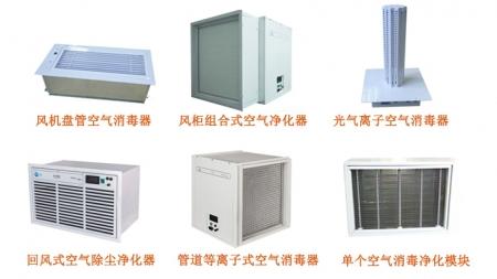 中央空调空气净化装置
